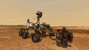 Illustration du rover Perseverance