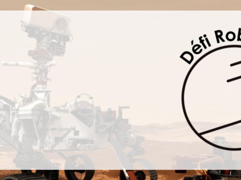 Robots martiens | Le défi en ligne le 20 mai 2021 !