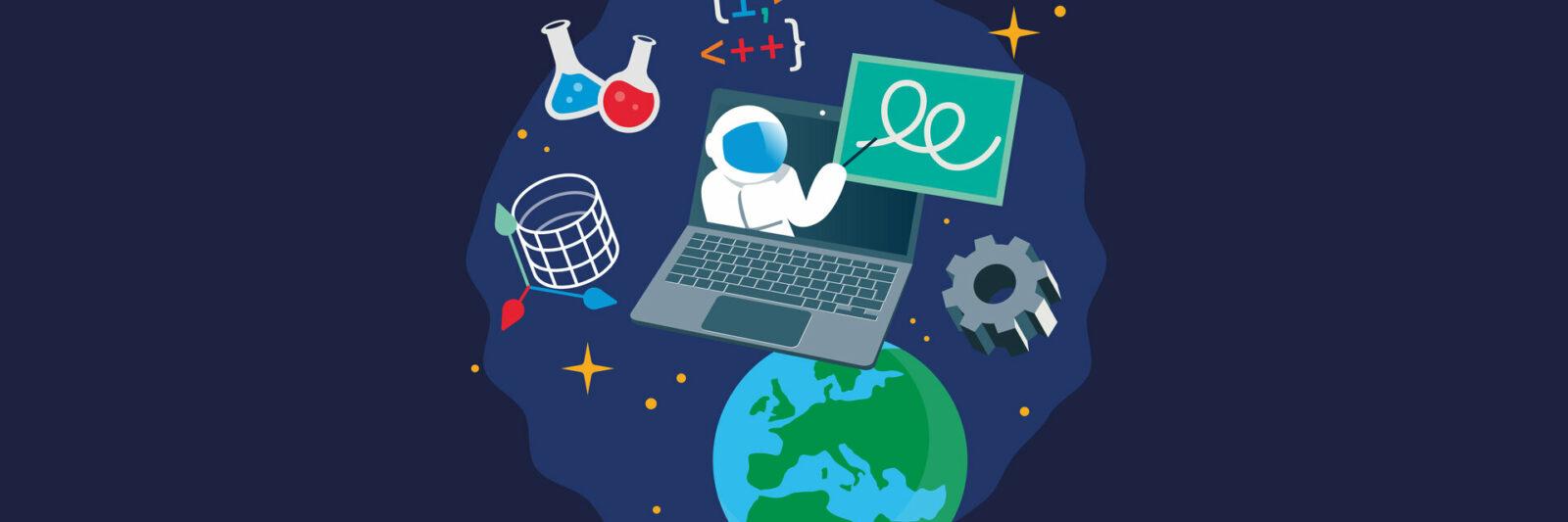 Conférence «Teach with Space» de l'ESA : inscrivez-vous !