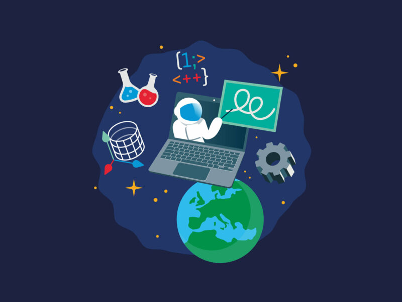 Rejoignez les sessions de formation en ligne «Teach with Space» de l'ESA !
