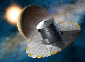 Illustration du satellite Gaia