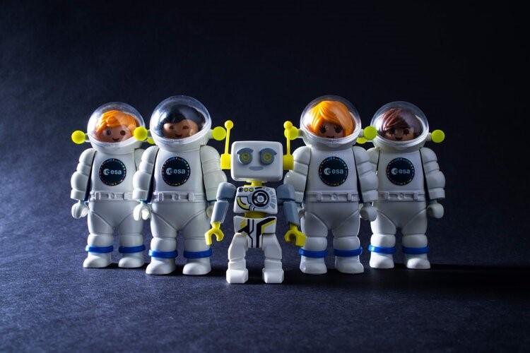 Comment devient-on astronaute ? Demandez-le à ROBert de Playmobil…
