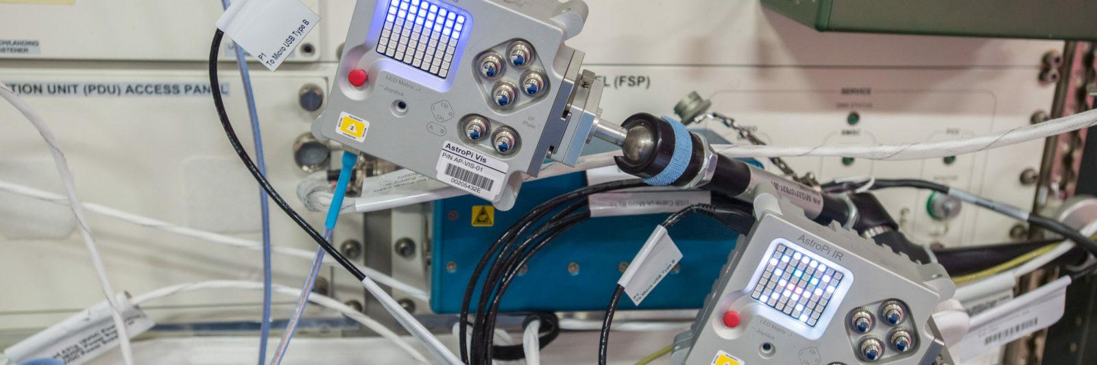 AstroPi : les programmes des jeunes à bord de l'ISS