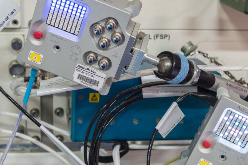 Astro Pi   Les programmes des jeunes à bord de l'ISS