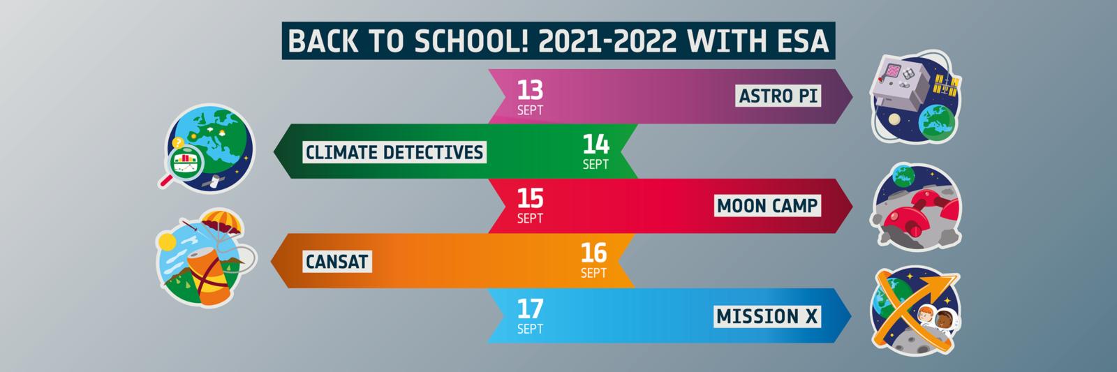 Back to school 2021-2022 | A vos agendas