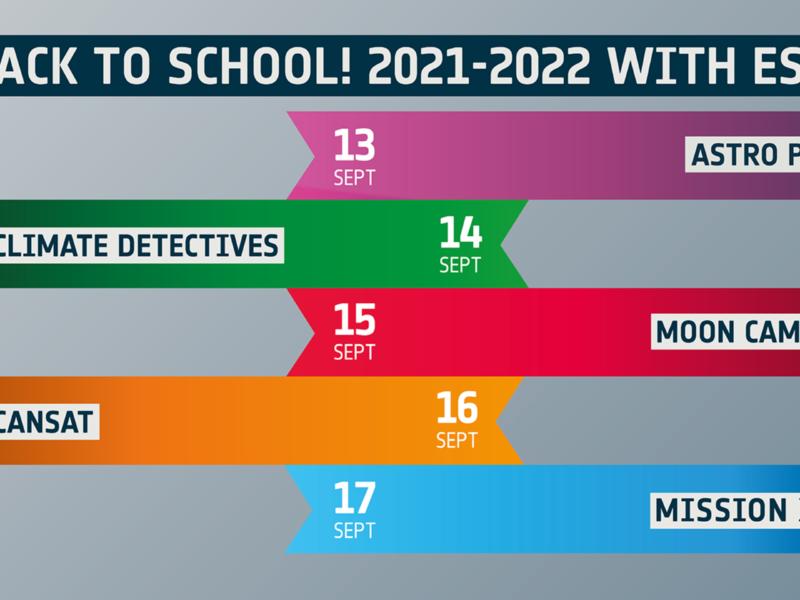 Back to school 2021-2022   A vos agendas