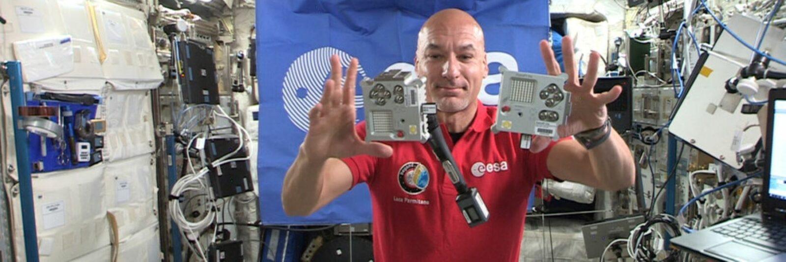 Astro Pi | Live webinar avec Luca Parmitano pour les gagnants 2021 !